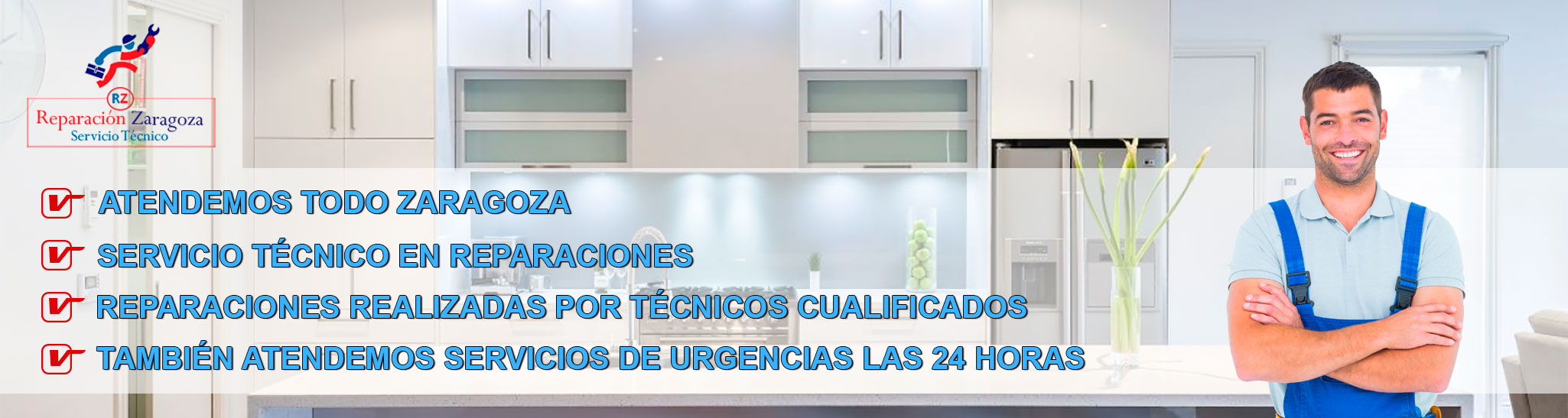 Reparaci n electrodom sticos zaragoza rz servicio t cnico for Reparacion calderas zaragoza