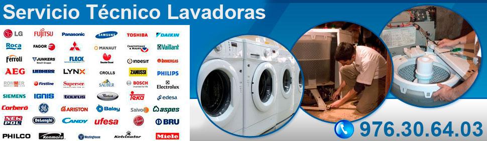 Servicio técnico reparación de lavadoras en Zaragoza