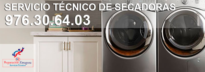Servicio técnico reparación de secadoras en Zaragoza
