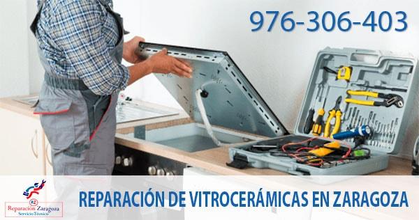 Reparar vitrocerámicas en Zaragoza